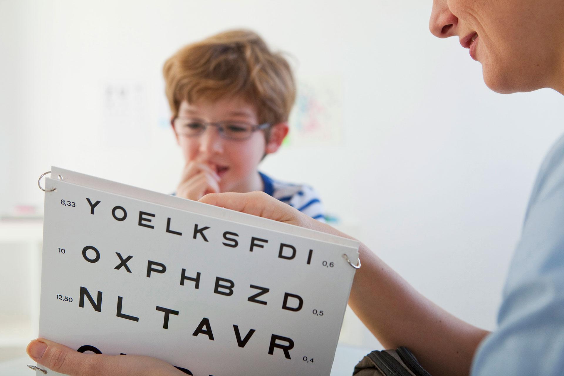 Programas de prevención de la discapacidad visual