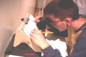 Instrumental para evaluar y mejorar la coordinación de los ojos con las manos