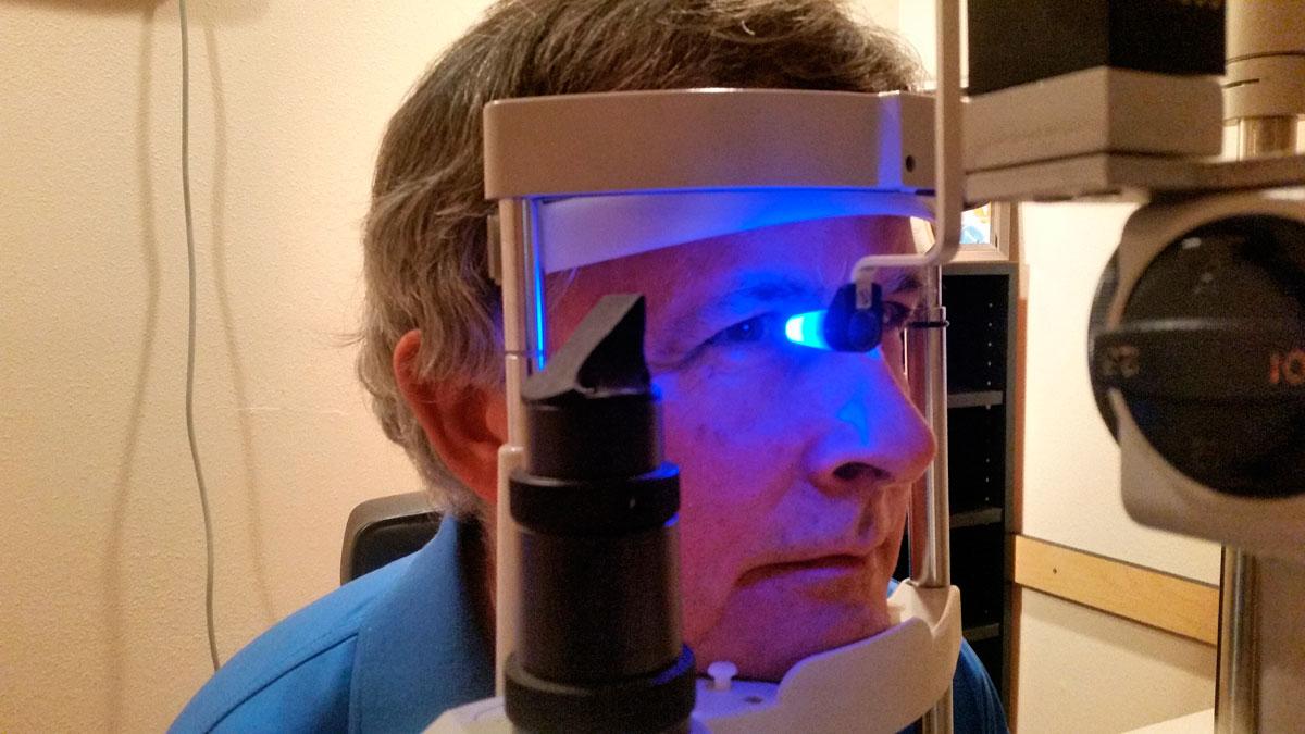 glaucoma ojo rojo