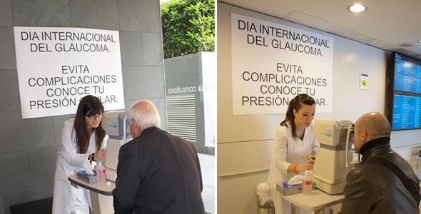 Campanya de prevenció del glaucoma 2012
