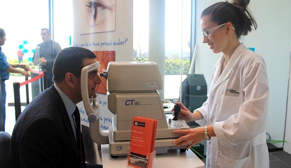 354 personas se someten a las pruebas de detección del glaucoma organizadas por Admira Visión