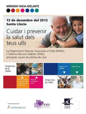 Campaña prevención de las enfermedades de la mácula DMAE, EMD