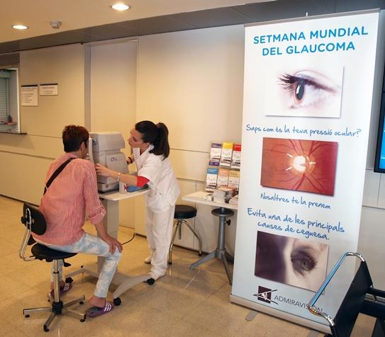 """Campanya prevenció glaucoma 2013: """"Per a que mai no hagis de veure el món a través d'un tub"""""""