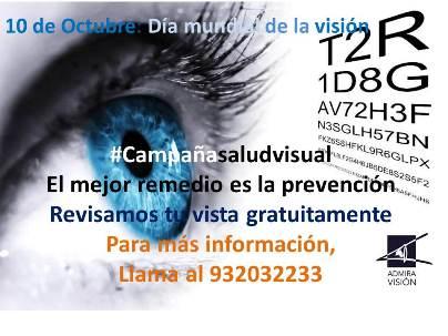Día Mundial de la Visión 2013: Revisiones oftalmológicas gratuitas
