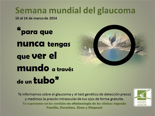 Setmana mundial del Glaucoma 2014