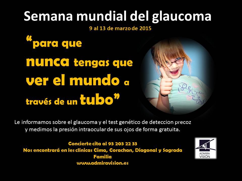 Semana Mundial del Glaucoma 2015