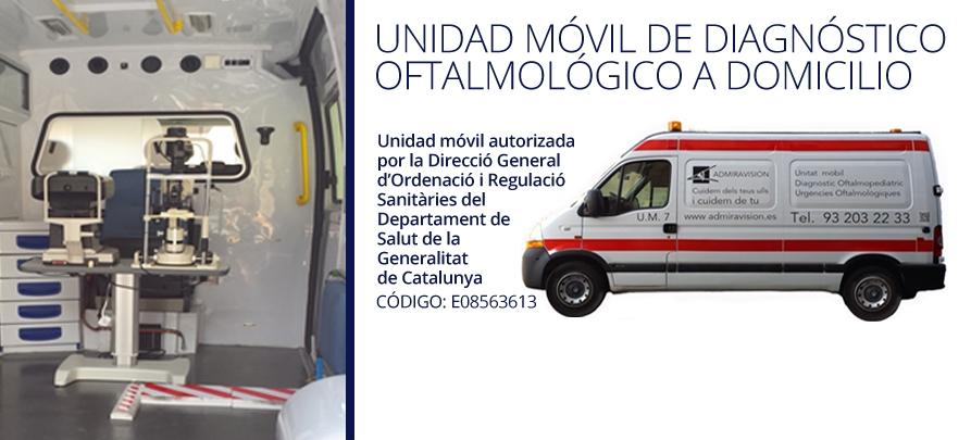 El grupo Admiravisión incorpora una Unidad Móvil de Diagnóstico Oftalmológico