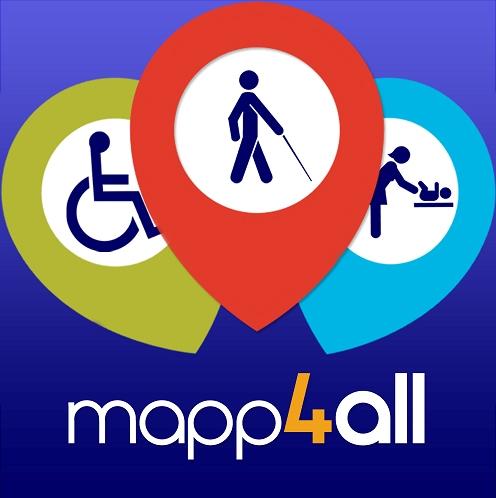 Admiravisión forma part d'aquest nou projecte Mapp4all. Un mapa per a tots.