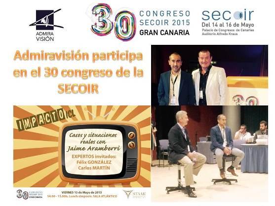 Admiravisión participa en el 30 Congreso de la SECOIR