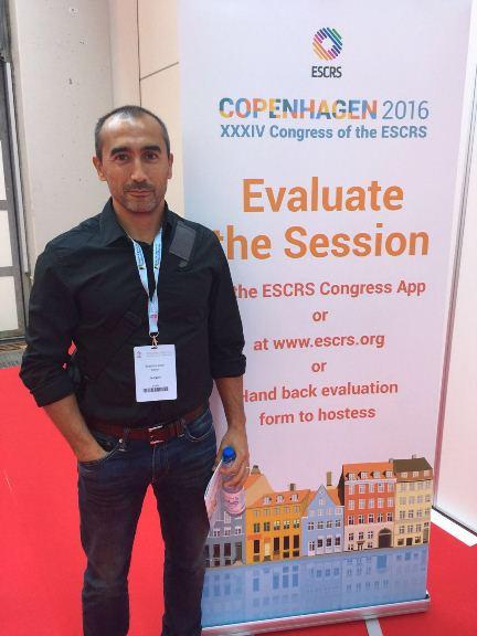 Admiravisión participa en el XXXIV congreso de la Soceidad Europea de Cirugía de la Catarata y Refractiva