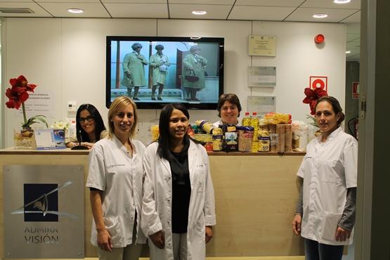 Colaboramos con el Gran Recaudo de alimentos de Clínica Diagonal para el Banc dels Aliments