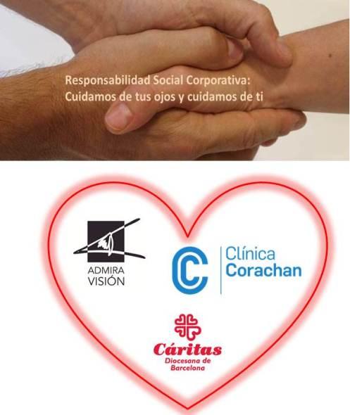 Admiravisión se suma al proyecto social de la Fundación Corachan y Cáritas Diocesana