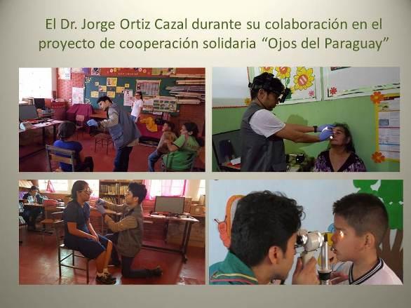 Dr. Jorge Ortiz Cazal. Vacances solidàries a Paraguai