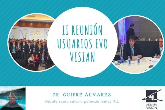 El Dr. Guifré Álvarez modera una taula sobre càlculs preoperatoris de les lents ICL