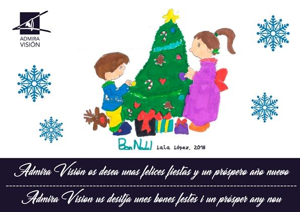 Et desitgem unes molt felices festes de Nadal
