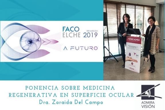Participamos en el congreso de Facoelche 2019
