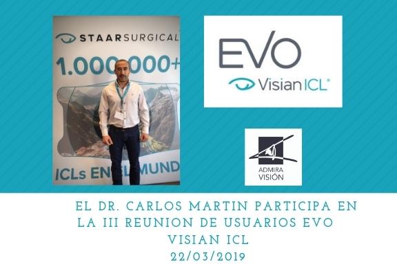III reunión de usuarios EVO Visian ICL 2019