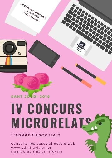 IV Concurso de microrelatos Sant Jordi 2019
