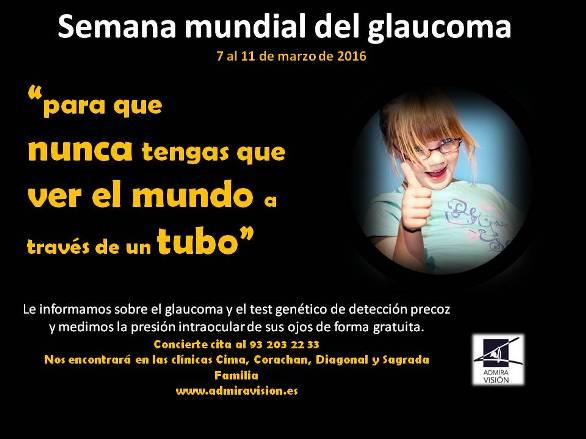 Setmana Mundial del Glaucoma 2016