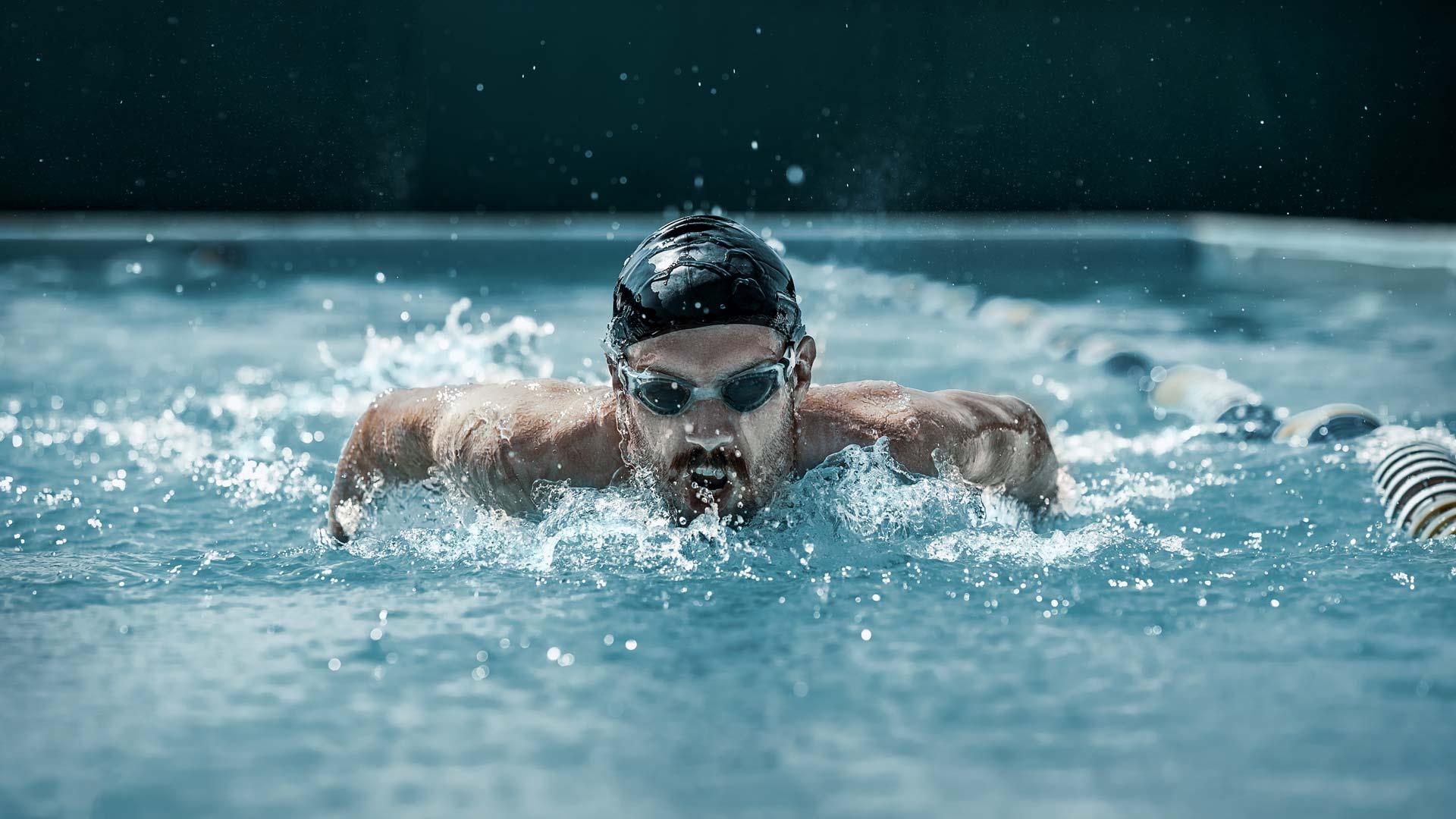 Examen ocular de l'esportista aquàtic
