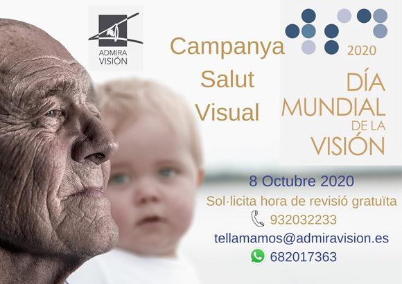 Campanya de Salut Visual del Dia Mundial de la Visió 2020