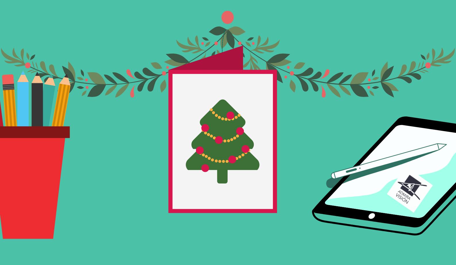 VII Concurso dibujo. Diseña nuestra postal de Navidad