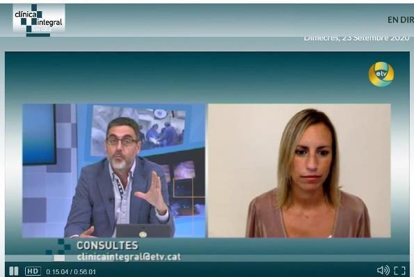 La Dra. Prats habla sobre la cirugía de cataratas a Esplugues Televisió