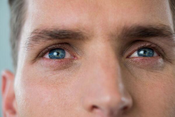 ojos rojos por glaucoma