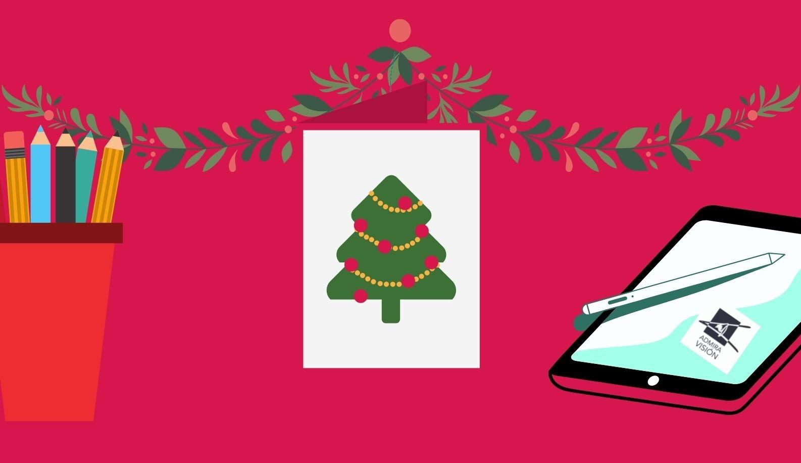 VIII Concurso de dibujo. Diseña nuestra postal de Navidad